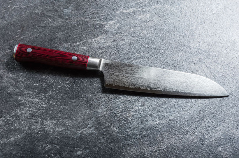 Japanese Damascus Chef's Knife