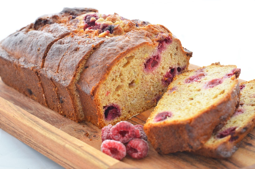 Loaf of Cranberry Bread