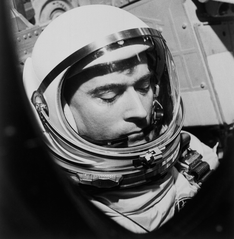 Astronaut John Young on Gemini III