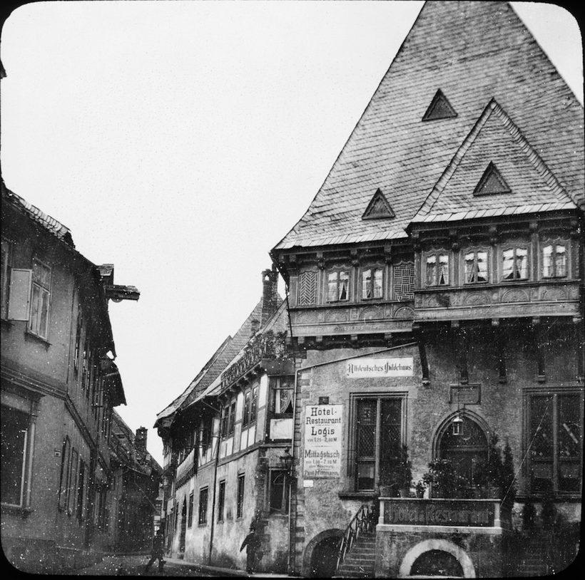 Baker's Guild House in Goslar, Germany built in early 1500s