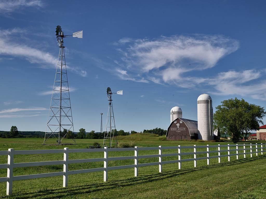Byrne Hollow Farm near Cortlandville, New York